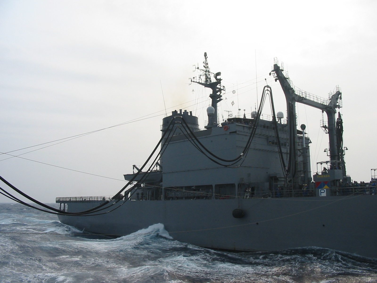 洋上補給 海上自衛隊の洋上生活 護衛艦乗員の艦艇生活