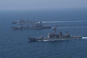 海上自衛隊の艦艇部隊の所在地紹介その2・神奈川県横須賀市