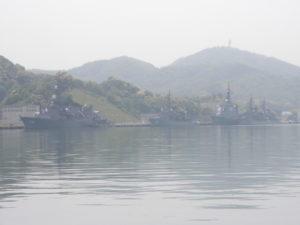 海上自衛隊の艦艇部隊・所在地紹介 その1 京都府舞鶴市