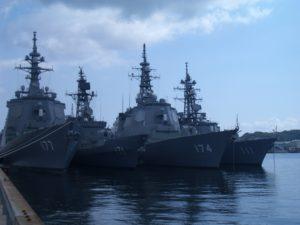 海上自衛隊・艦艇部隊の所在地紹介その3・長崎県佐世保市