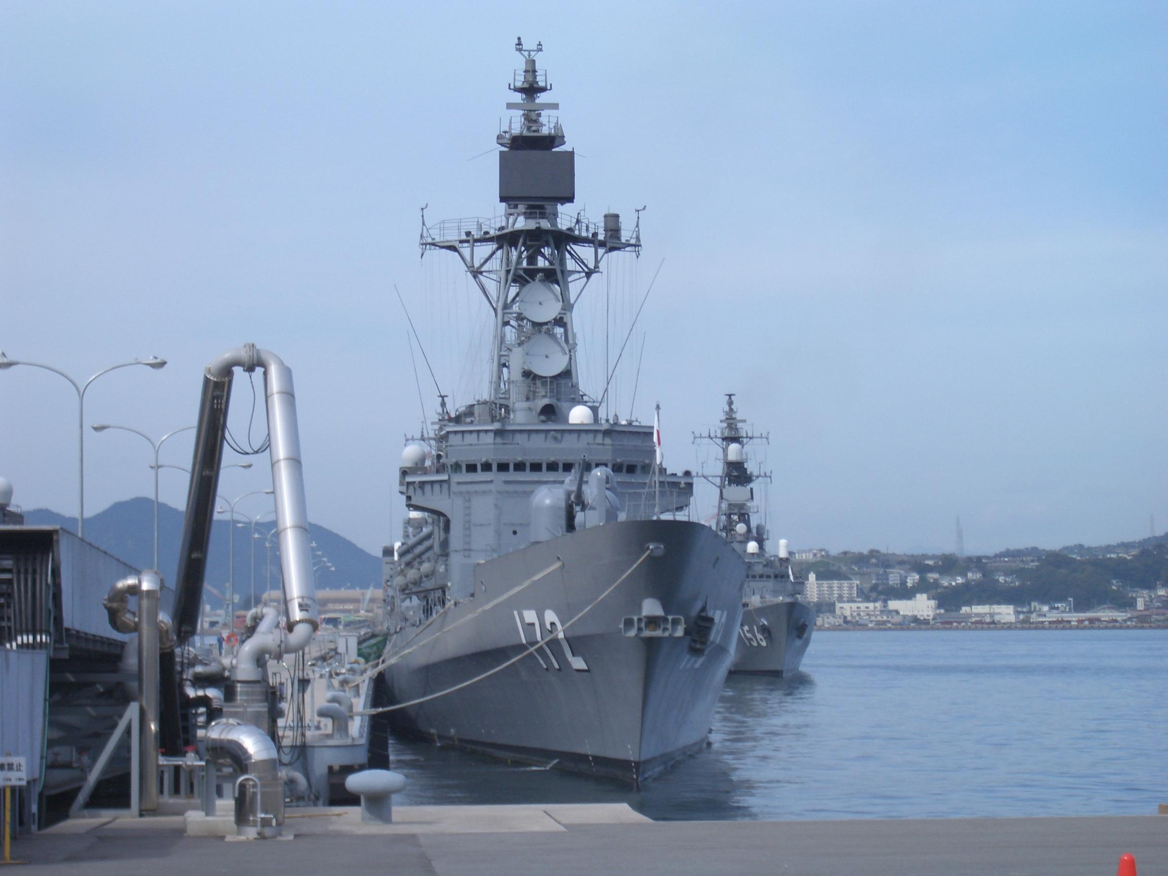 護衛艦しまかぜ 中国漁船と衝突