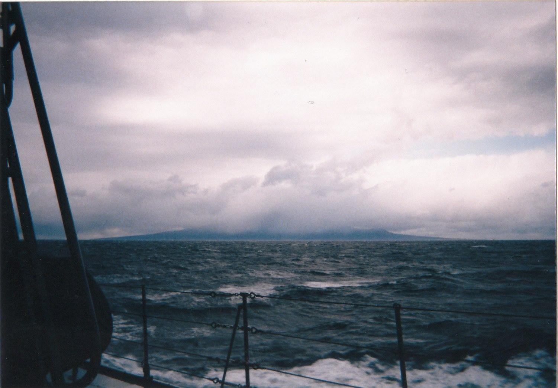 海上自衛隊の護衛艦生活:津軽海峡(宗谷海峡)冬景色~果たして護衛艦はどれぐらい揺れるのか!?~