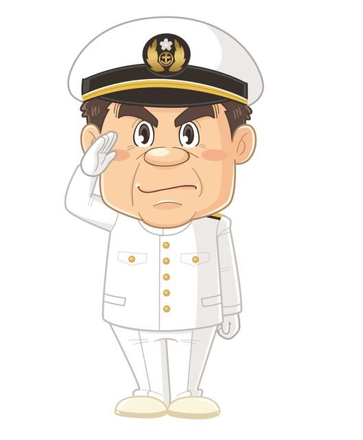陸自(陸軍)と海自(海軍)の敬礼の違い②~元海上自衛官の護衛艦生活~